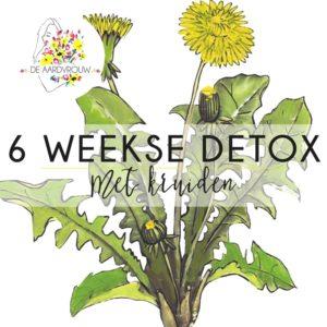 6 Weekse detox met kruiden - De Aardvrouw