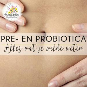Lezing en proeverij pré- en probiotica - De Aardvrouw